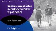 Badanie uczestnictwa mieszkańcow Polski w podróżach