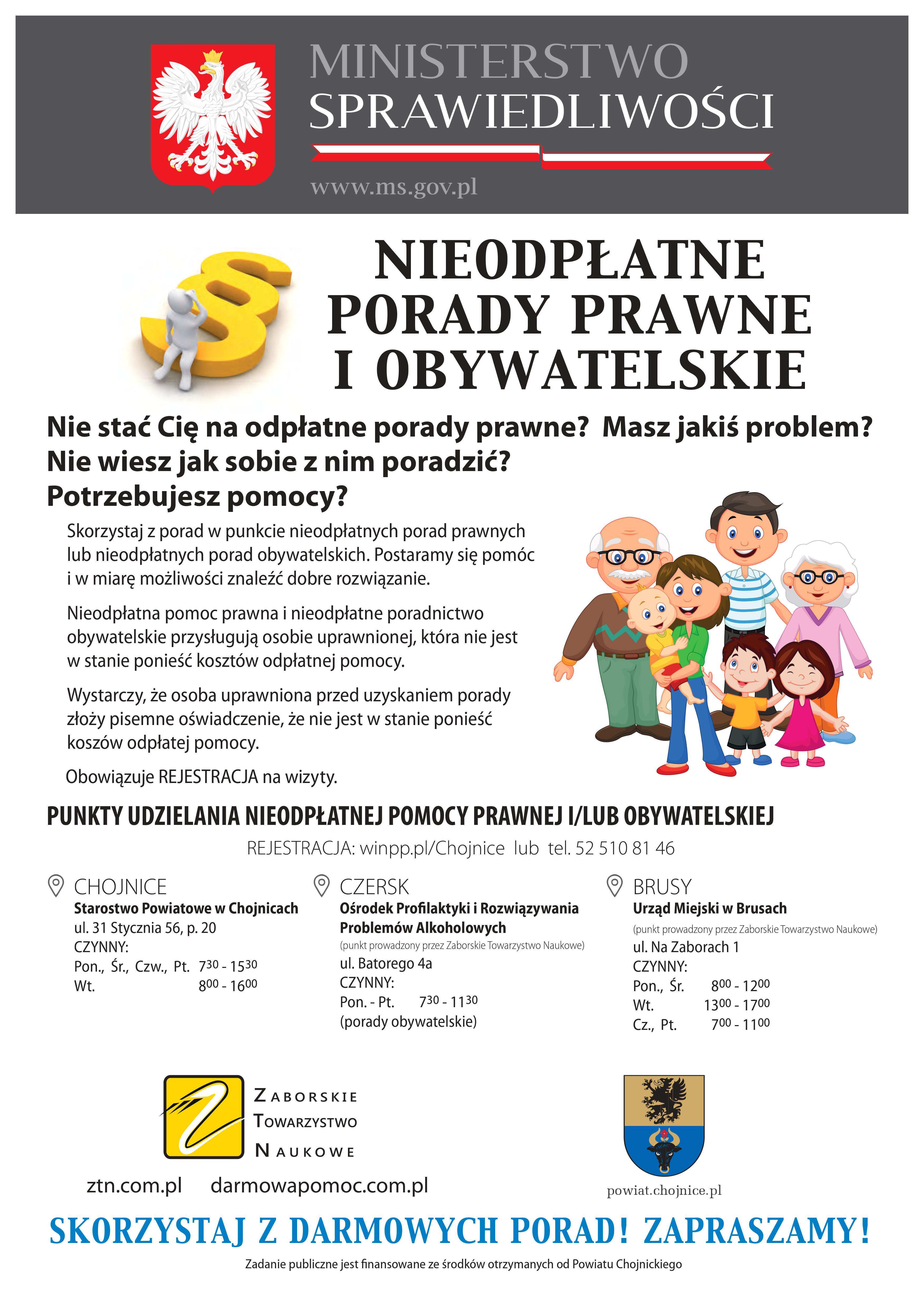 c5f4eaf446708d Nieodpłatne punkty pomocy prawnej w powiecie chojnickim w 2019 r ...