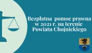 Bezpłatna pomoc prawna oraz poradnictwo obywatelskie w2021 r.